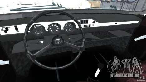 Peykan 1348 1970 para GTA 4 vista de volta