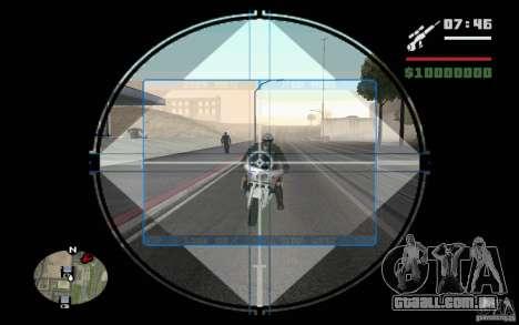 Sniper mod v. 2 para GTA San Andreas