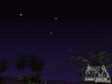 Timecyc - Purple Night v2.1 para GTA San Andreas décimo tela