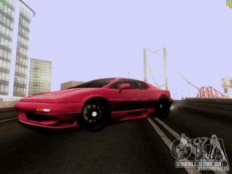 Lotus Esprit V8 para GTA San Andreas esquerda vista