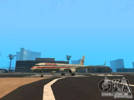 Boeing 757-200 American Airlines para GTA San Andreas