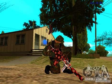 Trollface weapons pack para GTA San Andreas segunda tela