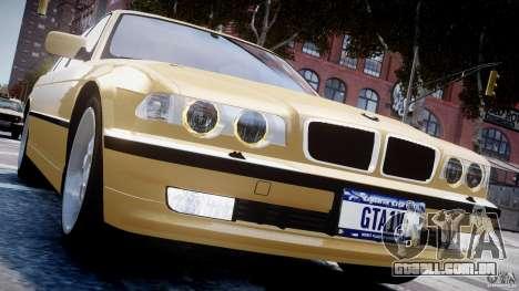 BMW 750i v1.5 para GTA 4 motor