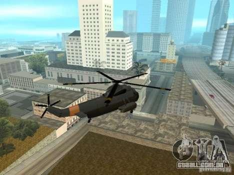 Enterable Leviathan para GTA San Andreas vista direita