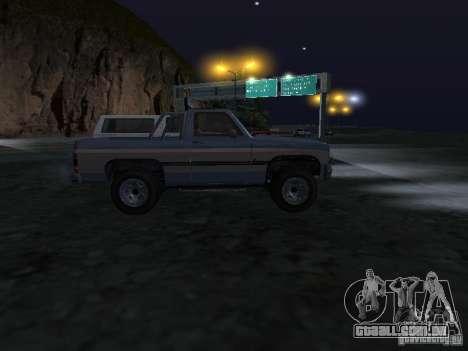 Fazendeiro de GTA 4 para GTA San Andreas vista traseira