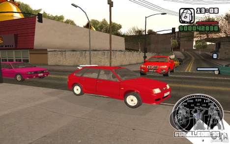 VAZ 21093i para GTA San Andreas vista superior