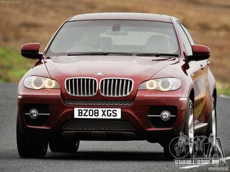 Telas de carregamento BMW X6 para GTA San Andreas sexta tela
