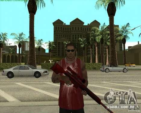 Blood Weapons Pack para GTA San Andreas terceira tela