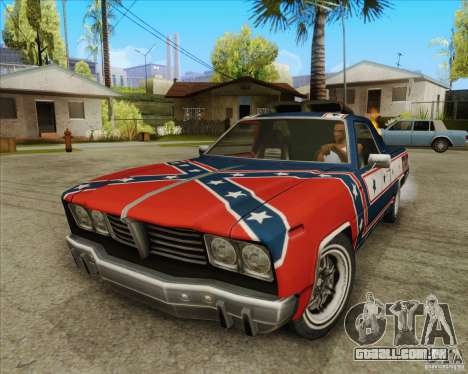 Trailblazer from FlatOut2 para GTA San Andreas esquerda vista