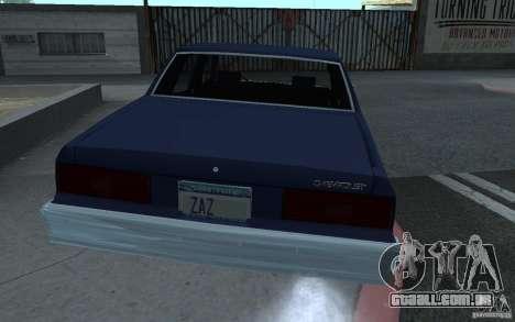 1983 Chevrolet Impala para GTA San Andreas esquerda vista