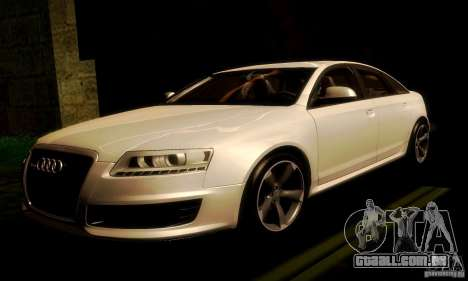 Audi RS6 TT para GTA San Andreas esquerda vista