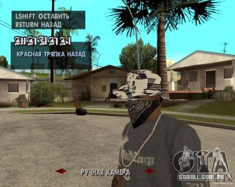 Hip-Hop caps para GTA San Andreas