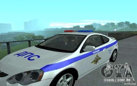 Polícia sobre a ponte de San Fiero_v. 2 para GTA San Andreas quinto tela