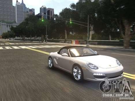 Porsche Boxster S 2010 EPM para GTA 4 vista de volta