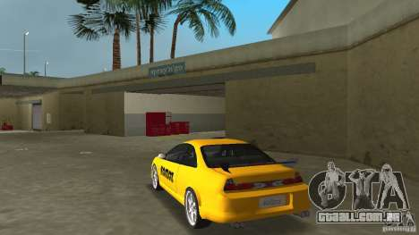 Honda Accord Coupe Tuning para GTA Vice City vista traseira esquerda