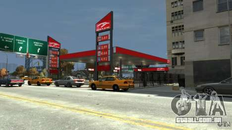 New gas station para GTA 4 terceira tela