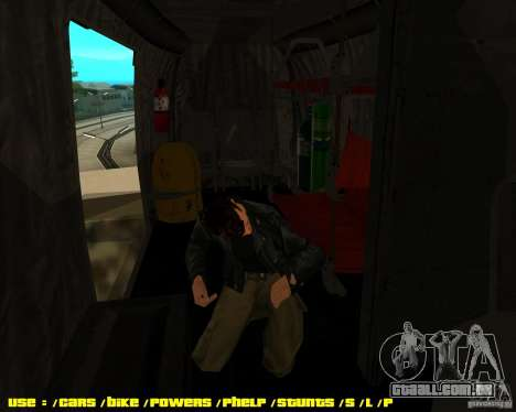 SH-3 Seaking para GTA San Andreas vista direita