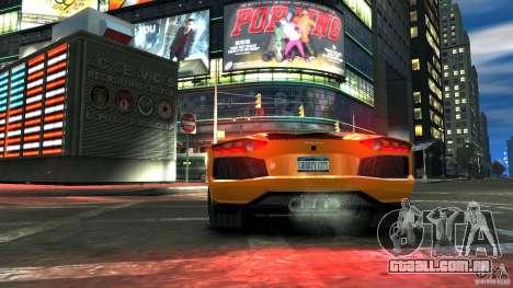 Lamborghini Aventador LP700-4 2011 EPM para GTA 4 vista direita