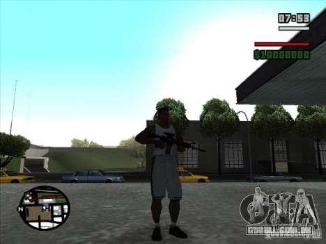 I AM Legend M4A1 para GTA San Andreas segunda tela