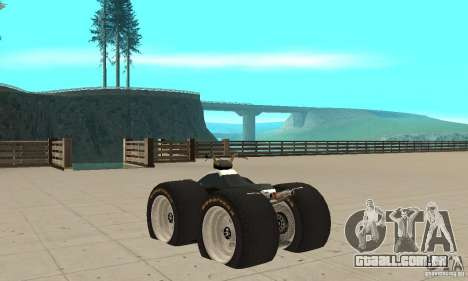 QUAD BIKE Custom Version 1 para GTA San Andreas traseira esquerda vista