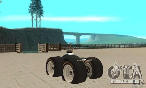 QUAD BIKE Custom Version 1 para GTA San Andreas traseira esquerda vista