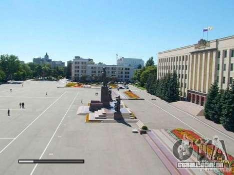 Tela de boot, a cidade de Stavropol para GTA San Andreas segunda tela
