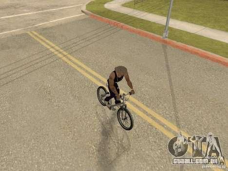 Ocultar-traz as armas no carro para GTA San Andreas por diante tela