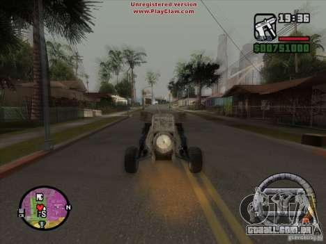 Turbo car v.2.0 para GTA San Andreas vista interior