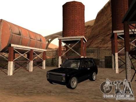 VAZ 2121 Tuning para GTA San Andreas traseira esquerda vista