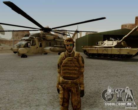 Tom Clancys Ghost Recon para GTA San Andreas quinto tela