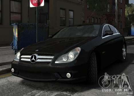 Mercedes-Benz CLS 63 AMG para GTA 4 vista interior