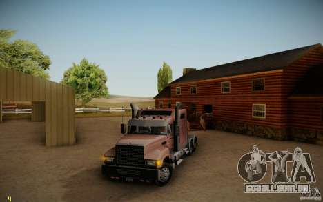 Mack Pinnacle Rawhide Edition para GTA San Andreas esquerda vista