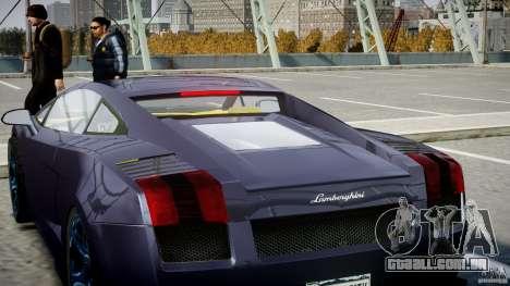 Lamborghini Gallardo Superleggera para GTA 4 motor