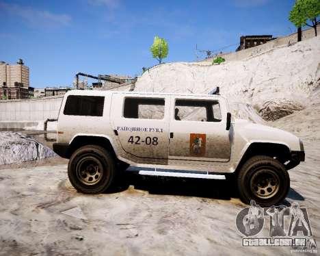 Russian NOOSE Patriot para GTA 4 esquerda vista