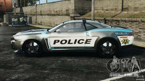 NFSOL State Police Car [ELS] para GTA 4 esquerda vista