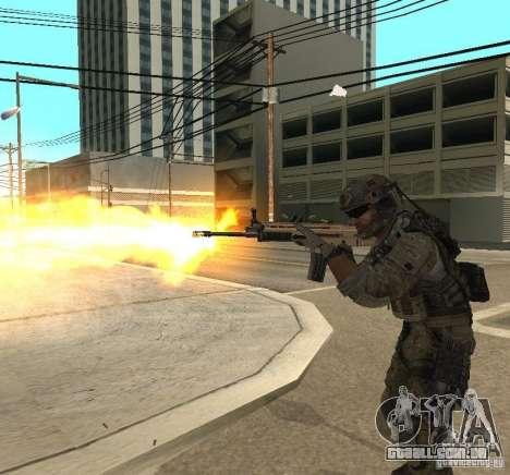 Frost and Sandman para GTA San Andreas quinto tela