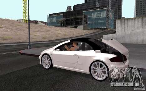 Peugeot 307CC BMS para o motor de GTA San Andreas