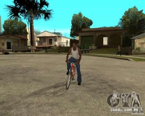 Kona Cowan 2005 para GTA San Andreas vista traseira