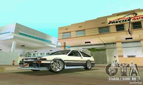 Toyota Trueno AE86 4type para GTA Vice City