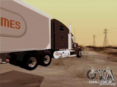 Freightliner Coronado para GTA San Andreas vista direita