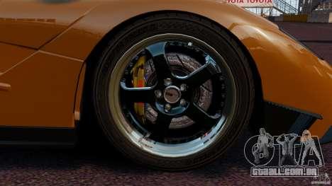 McLaren F1 para GTA 4 vista interior