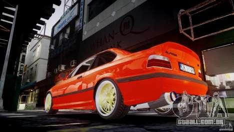 BMW E36 Alpina B8 para GTA 4 interior