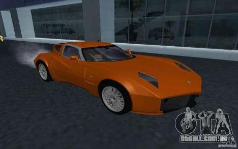 Spada Codatronca TS Concept 2008 para GTA San Andreas vista traseira