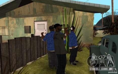 Crips 4 Life para GTA San Andreas oitavo tela