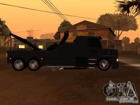 Scania 112H Gruas Fenix para GTA San Andreas esquerda vista