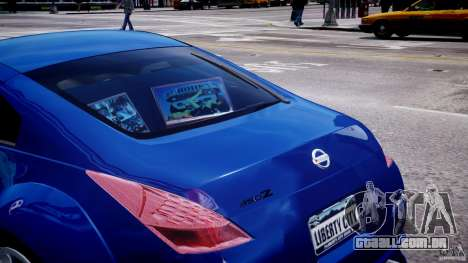 Nissan 350Z Veilside Tuning para GTA 4 rodas