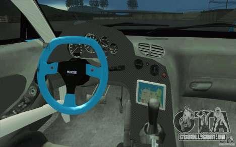 Mazda RX-7 911 Trust para GTA San Andreas vista superior