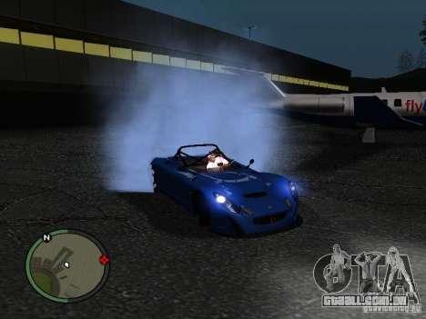 Lotus 2-Eleven 2009 para GTA San Andreas esquerda vista