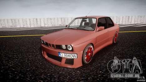 BMW E30 v8 para GTA 4
