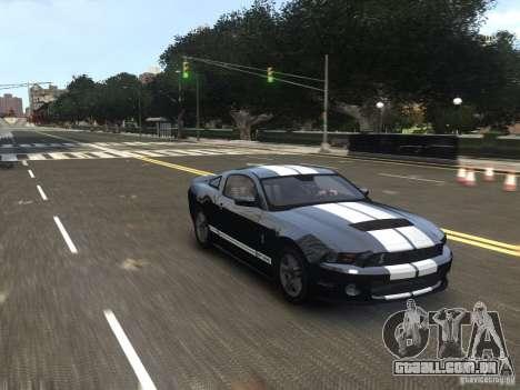 Ford Shelby GT500 2010 WIP para GTA 4 vista direita